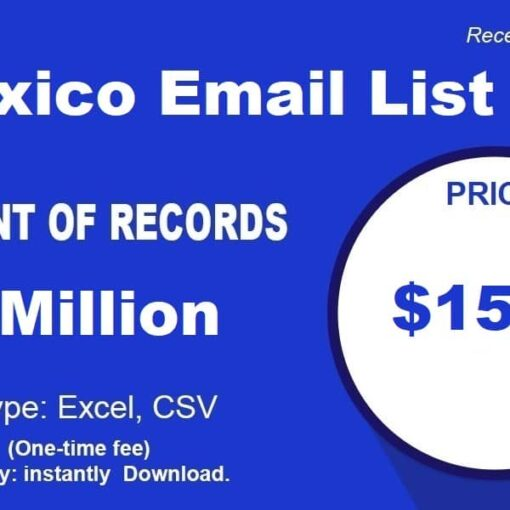 Mexico-Email-List